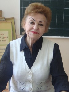 Валентина Михайловна Бухреева (2012 год)