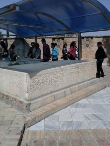 Ложе Амира Темура, где он восседал, принимая гостей