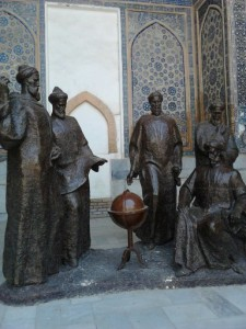Памятник Мирзо Улугбеку, в честь 600 летия