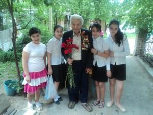 В гостях у Шакира Макаровича Мелковьян (май 2012)