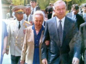 Ортикбоев Абдулла с Президентом нашей страны