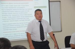Приветственная речь Первого заместителя Министра Б.Х. Даниярова
