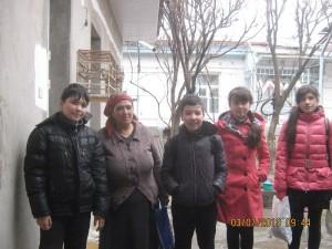 Умарова Ирода и ученики 6 класса
