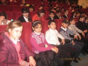 Ученики 6-х классов на концерте