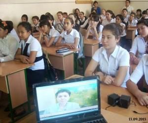 Ученицы старших классов