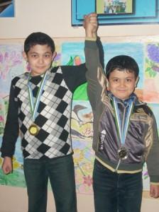 два брата - чемпиона