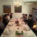 обед в резиденции посла Республики Корея