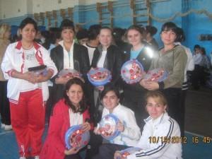 Спортивная команда учителей школы №142 (2012)