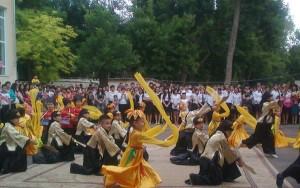Театрализованный китайский танец