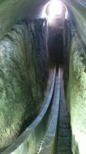тоннель в обсерватории Мирзо Улугбека