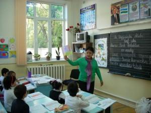 """Открытый урок в 3 """"В"""" классе (учитель Худайнозарова Р.Х.)"""