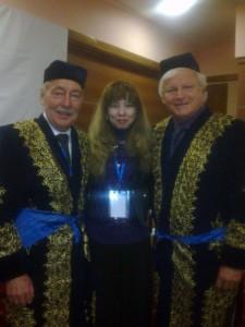 С представителями ассоциации TAFISA (Питер Капустин и Вимб Флориджн)