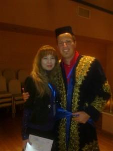 С представителем ассоциации TAFISA (Флориэн Штэбек)