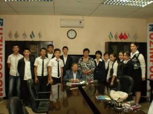 Тохир Малик в гостях у Центра UZINFOCOM